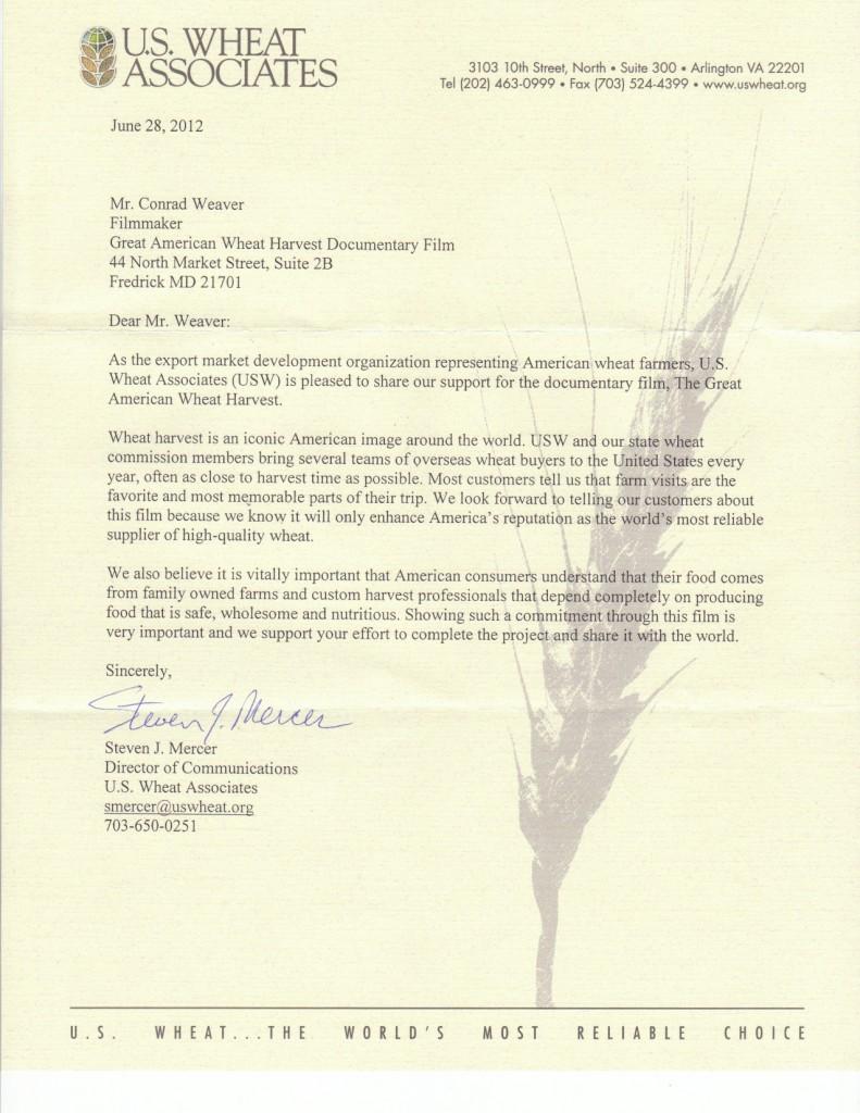 U S  Wheat Associates | Great American Wheat Harvest